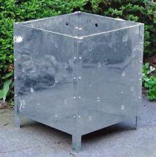 Large Square Steel Metal Garden Waste Incinerator Fire Bin Basket Rubbish Pit
