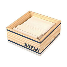 Kapla 40 Box White Pine Wood Building Blocks Box (c40bl) NEW! #