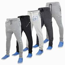 New Mens Designer Fleece Slim Skinny Joggers Jogging Sweat Pants Bottom