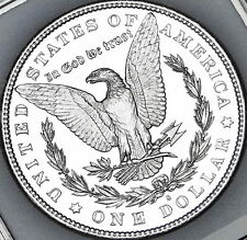 "PL 1880-S MORGAN SILVER DOLLAR SUPER A+ MS/BU/GEM ""REAL BLAZIER"" NO # 4"