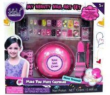 New Toys S & Li My Beauty Cosmetics Nail Art Set With Real Nail Dryer