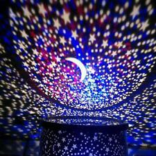 CHILDRENS STAR MASTER NIGHT LIGHT SKY LED PROJECTOR LAMP Romantic KIDS BEDROOM