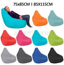 US Waterproof Bean Bag Chair Indoor/Outdoor Gamer Beanbag Seat Adult Kid Relax