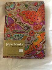 Flutterbyes Midi - Paperblanks - Lined Blank Journal Butterflies Foil Finish