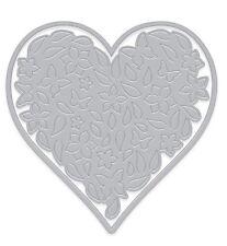 Hero Arts Paper Layering FLORAL HEART WITH FRAME Dies (make dimensional die cuts
