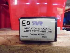 TVR INDICATOR AND HAZARD LAMPS SWITCHING UNIT ME0147 ED