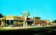 Photo. 1950s. Ferndale, Michigan.  Race Motor Sales, Edsel - Auto Dealership