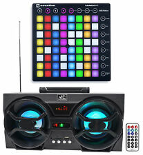 Novation LAUNCHPAD S MK2 MKII MIDI USB RGB Controller Pad+Free Speaker Speaker !