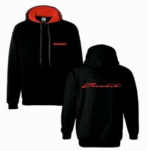 Suzuki bandit inspired motorbike motorcycle tribute hoodie top size s - xxl