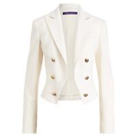 $1,590 Ralph Lauren Purple Label Collection Womens RL Wool Spencer Blazer Jacket