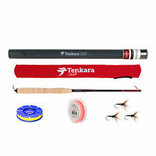 """Tenkara USA -Sato 10'8"""" - 12'9"""" Telescoping Fly Rod and Level Line Outfit"""