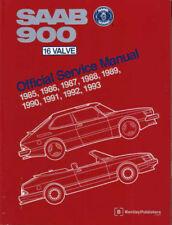 SAAB 900 SHOP MANUAL SERVICE REPAIR BOOK 16 BENTLEY HAYNES CHILTON