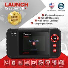 LAUNCH X431 Creader VII+ Car OBD2 Diagnostic Scanner Code Reader OBDII Scan Tool