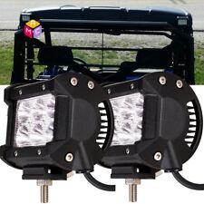 POLARIS RANGER LED BACKUP LIGHT SPOTLIGHT BRACKETS ONLY REAR LIGHT BAR 2PCS