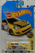 VW VOLKSWAGEN GOLF MK7 ART 6 16 2016 CRASH HW HOT WHEELS