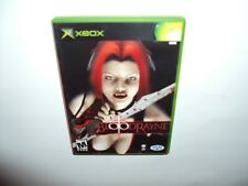 BloodRayne (Microsoft Xbox, 2002)  Complete With Manual And Case Adult Owned