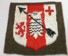 Commonwealth Issued Collectable WWII Military Patches