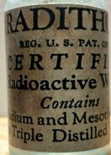 Vintage Medicine Hand Crafted Bottle, Radithor (Radio Active Water) 4