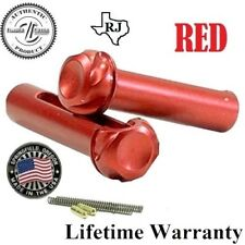 Takedown Pivot Pin Set + Detent Spring By Timber Creek Outdoors Anodize RED Kit