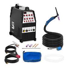 WIG Schweißgerät ACDC Alu schweißen 220A Inverter Schutzgas E Hand Puls 2/4 Takt