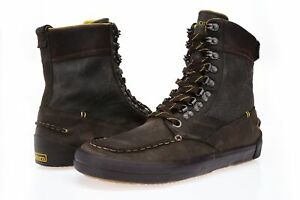 TRETORN Men's Gor-Tex Brown Leather Ankle Urban Boots Sz 9 NEW