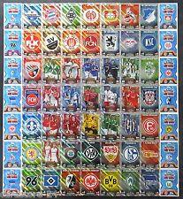 Match Attax 14 15 Duo Karten & Club Karten Wappen Logo aussuchen 2014 / 2015 NEU