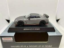 KYOSHO 1:64 NISSAN GT-R  NISMO  GRIS MATE