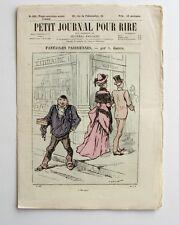 Petit Journal pour Rire n°520 - Fantaisies Parisiennes A. Grévin -  Mars