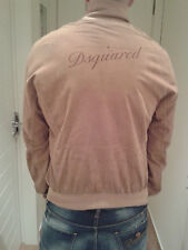 Authentic DSQUARED suede jacket 71AM165 tag.50 (52-54)