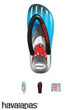 Havaianas Black Blue Shark Jaw Big Huge Inflatable Floating Bed Pool Beach