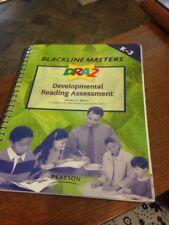 NICE! DRA2 Developmental Reading Assessment K-3 Blackline Masters