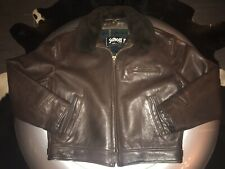 ‼️ SCHOTT HIGHWAYMAN 630 LEDERJACKE LEATHER BIKER AERO FLIGHT JACKET US46 L / XL