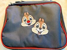 Disney pin bag CHIP -N- DALE  4 large zippered pouches great 4 the parks