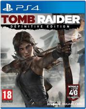 Tomb Raider - Definitive Edition Ps4 (Sony PlayStation 4) Brand New -Region Free