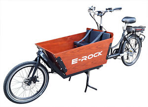 "E Lastenrad ""E-Donkey City"" Lastenfahrrad Kindertransport E Bike Transport"