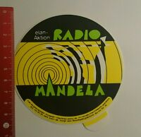 Aufkleber/Sticker: Elan Aktion Radio Mandela (270816109)