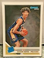 2019-20 Donruss Rated Rookie RC Jaxson Hayes #207 New Orleans Pelicans