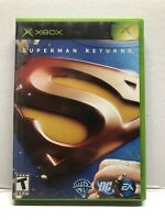 Superman Returns: The Video Game (Microsoft Xbox) Complete Tested Working