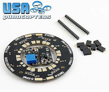 Universal 12-Way 120A Multirotor Power Distribution Board Dual BECs LEDS USA