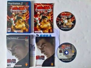 TEKKEN 5 & TEKKEN TOURNAMENT TAG for PLAYSTATION 2 'RARE & HARD TO FIND'