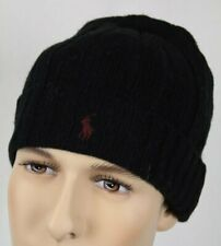 a934d48b055a7f Polo Ralph Lauren Wool Blend Solid Beanie Hats for Men for sale | eBay