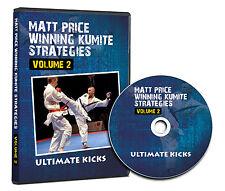 Winning Kumite Strategies Vol 2 - Ultimate KICKS Karate DVD Featuring Matt Price