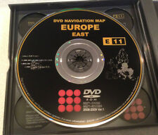 LEXUS TOYOTA EUROPE MAP EAST OEM E11 NAVIGATION DVD DISC 2008 2009 SAT VER 1.0