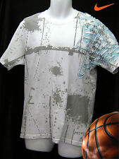 New Nike AIR JORDAN Limited Edition Vintage Basketball Cotton T Shirt White M