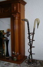 Hammered metallic bronze Umbrella Walking stick Stand