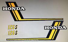 HONDA CB125J CB125S RESTORATION DECAL SET