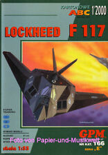 """GPM 166 - Lockheed F-117 """"Stealth Figther"""" - 1:33"""