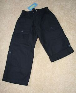 NWT GYMBOREE Eastern Seaboard Navy Roll Up Pants~4