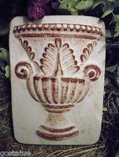 Roman urn plastic mold  casting concrete plaster mould