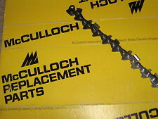 """Pair of McCulloch 610 700 SP 70 80 81 850 650 10-10 Chainsaw Chains 3/8  20"""""""